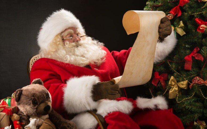 Faktai apie Kalėdų Senelį
