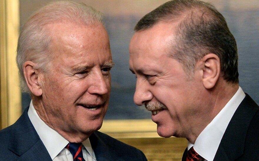 Bidenas ir Erdoganas