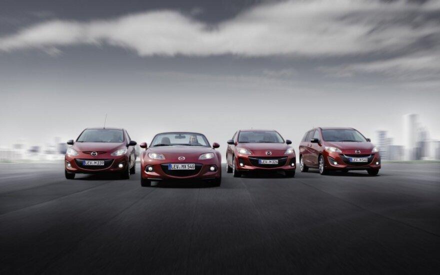Mazda modeliai
