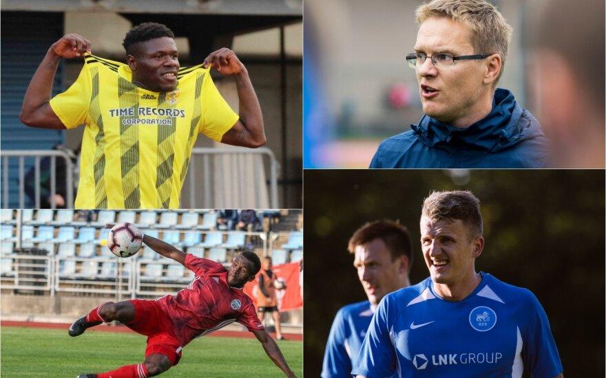 "FK ""Ventspils"", FK ""Liepaja"", Valdas Dambrauskas, Edvinas Girdvainis"