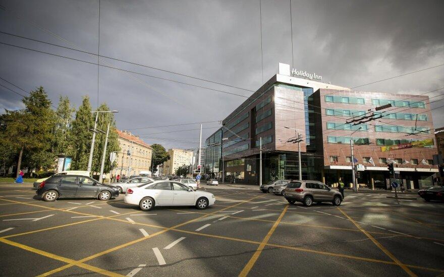 Įvertino naują Vilniaus sankryžų ženklinimą