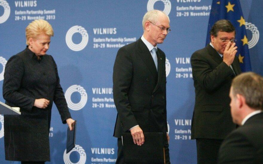 Viršūnių susitikimo finalas: griežti vertinimai Rusijos ir Ukrainos adresu