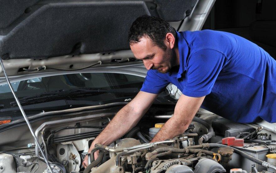 Daugiausiai gyventojų siekia susigrąžinti GPM už automobilio remonto darbus
