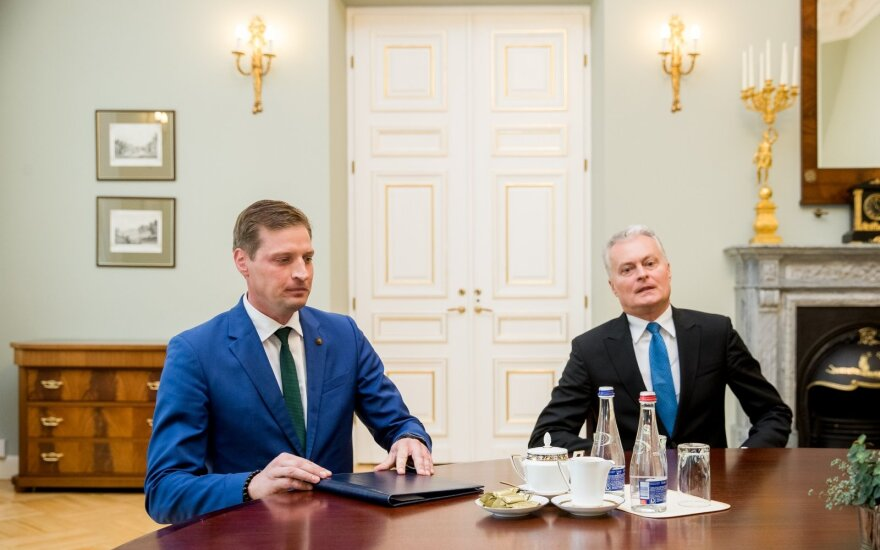 Kęstutis Mažeika, Gitanas Nausėda