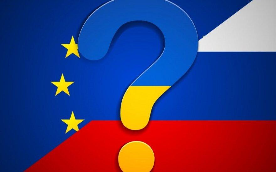 ES, Rusijos ir Ukrainos santykiai – tai ne žaidimas, kuriame laimi tik vienas