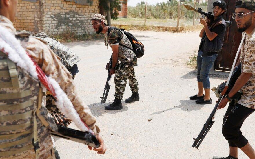 Libijos vyriausybės pajėgos
