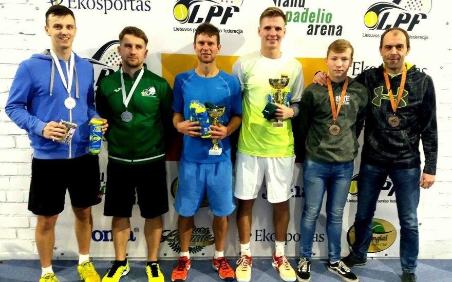 Lietuvos padelio teniso mėgėjai atidarė žiemos sezoną (Z. Grigonienės nuotr.)