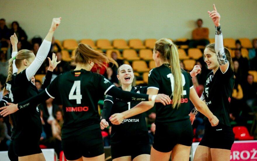 Moterų tinklinio komandų kovas Baltijos lygoje / FOTO: Matas Baranauskas