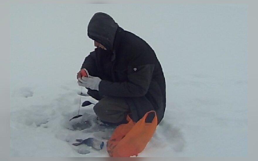 Baudą gavęs žvejas