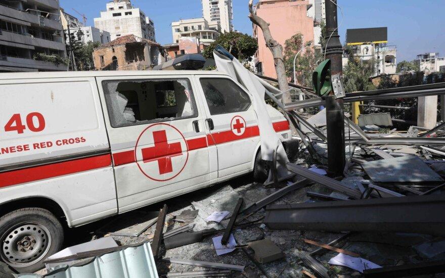 Po sprogimo Beirute – pirmos ekspertų išvados: katastrofa įvyko dėl aplaidumo