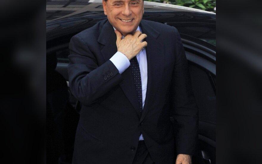"""Milan"""" savininkas S.Berlusconi stos į kovą su beprotišku išlaidavimu futbole"""