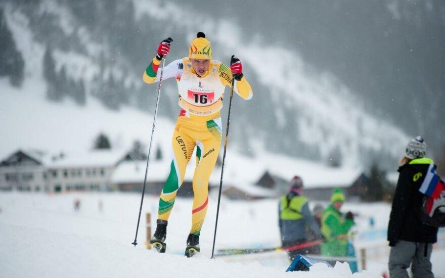 R. Vaitkų atkaklumas atvedė į jaunimo olimpines žaidynes