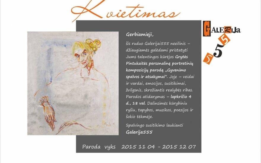 """Sostinėje – portretinių kompozicijų paroda """"Gyvenimo spalvos ir atsakymai"""""""