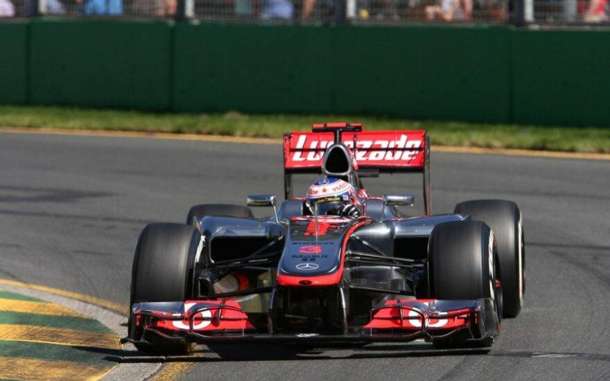 "Jensonas Buttonas su ""McLaren Mercedes"""
