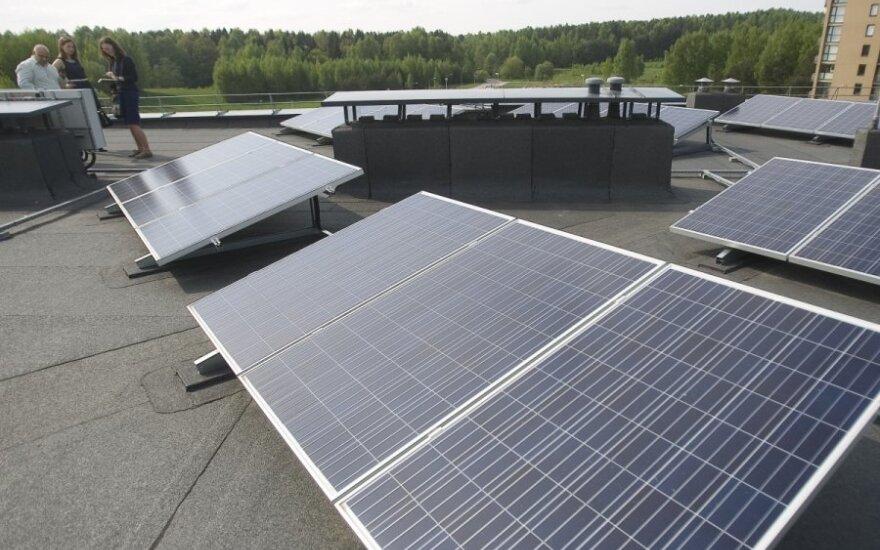 """""""Elektrum Lietuva"""" plečia veiklą: padės įsirengti saulės jėgaines"""