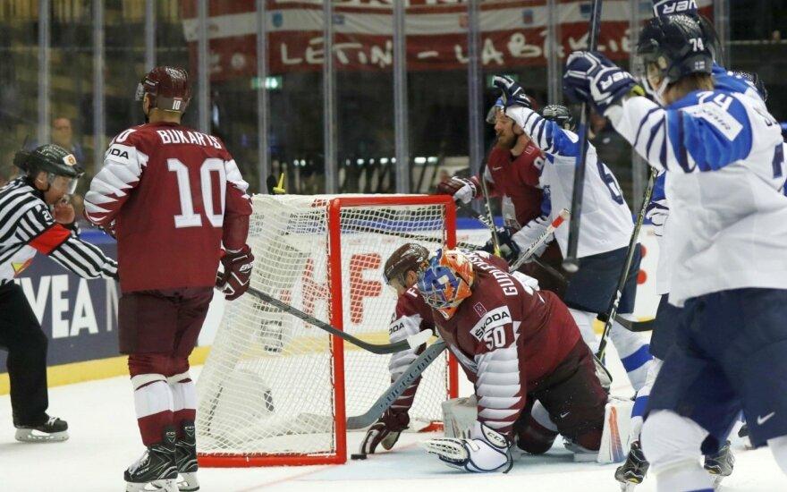 Pasaulio čempionate – Latvijos ledo ritulininkų pažeminimas