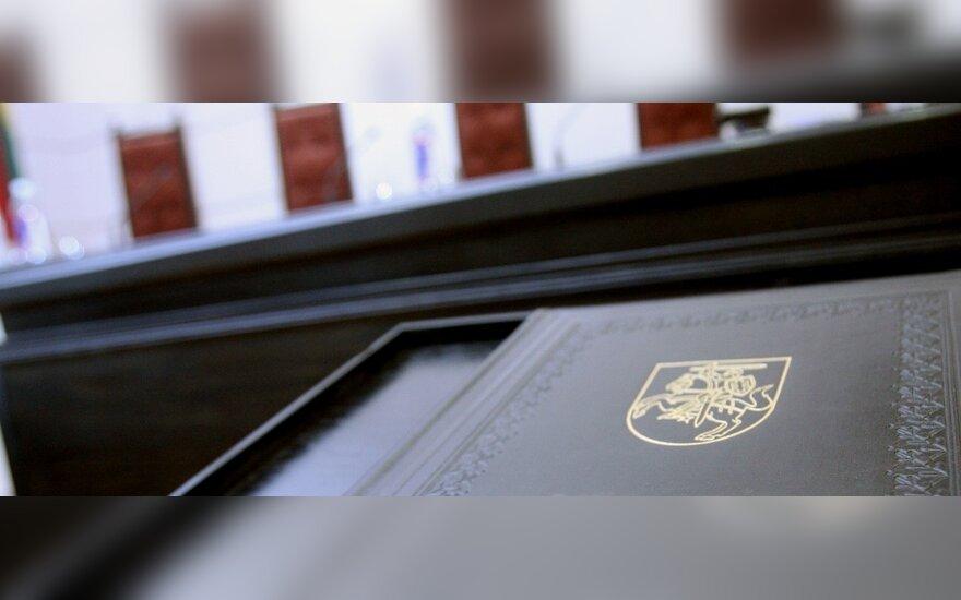 Vyriausybė pritaria tarėjams teismuose