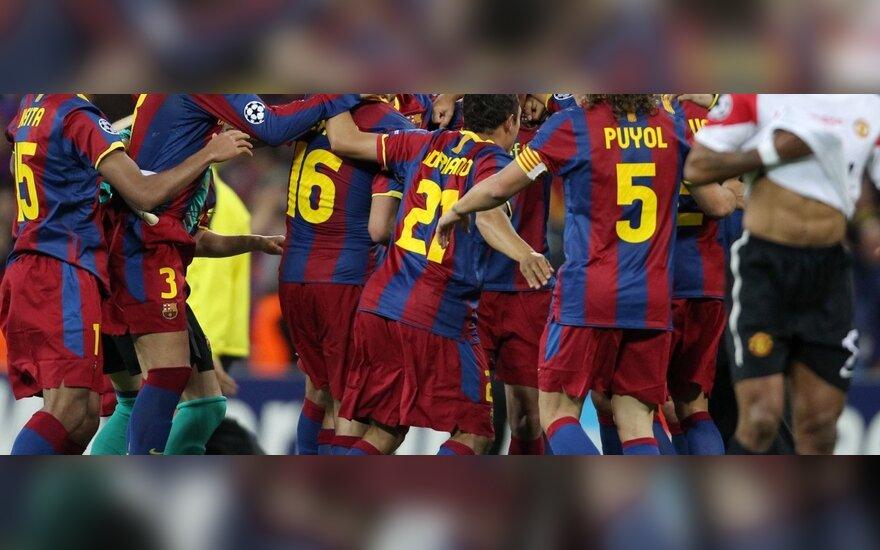 """Barcelona"" klubo triumfas Čempionų lygos turnyro finale"