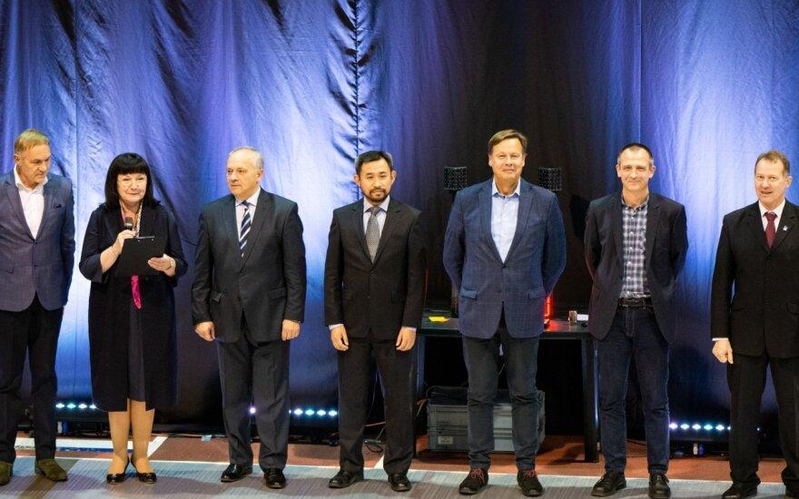 Leaders of NFU federations meet in Vilnius