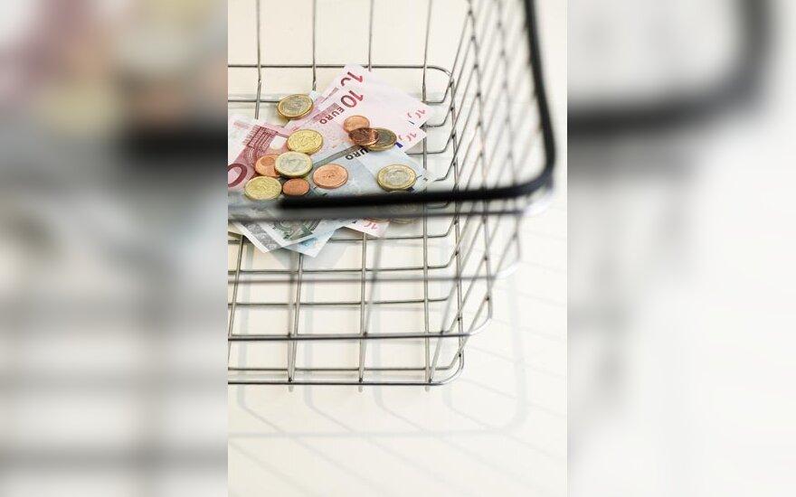 pirkti, pirkiniai, prekės, parduotuvė, krepšelis, taupymas