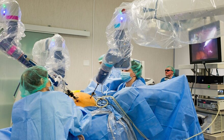 Robotinė chirurgija Klaipėdos universitetinėje ligoninė