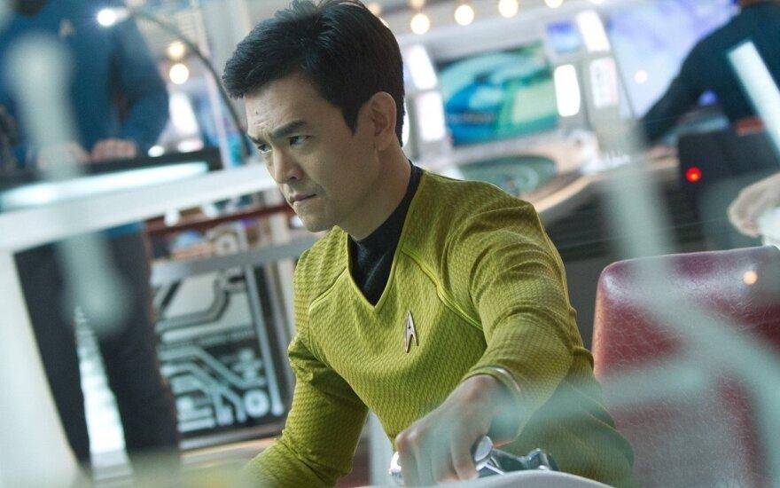 """John Cho, kadras iš filmo """"Žvaigždžių kelias"""""""