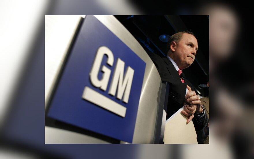 """Naujoji """"General Motors"""" – mažesnė ir lieknesnė"""