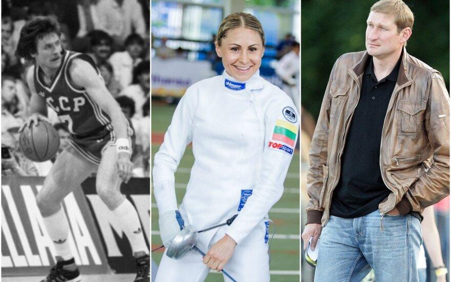 Valdemaras Chomičius, Laura Asadauskaitė, Eurelijus Žukauskas / Foto: Sputnik-Scanpix, DELFI
