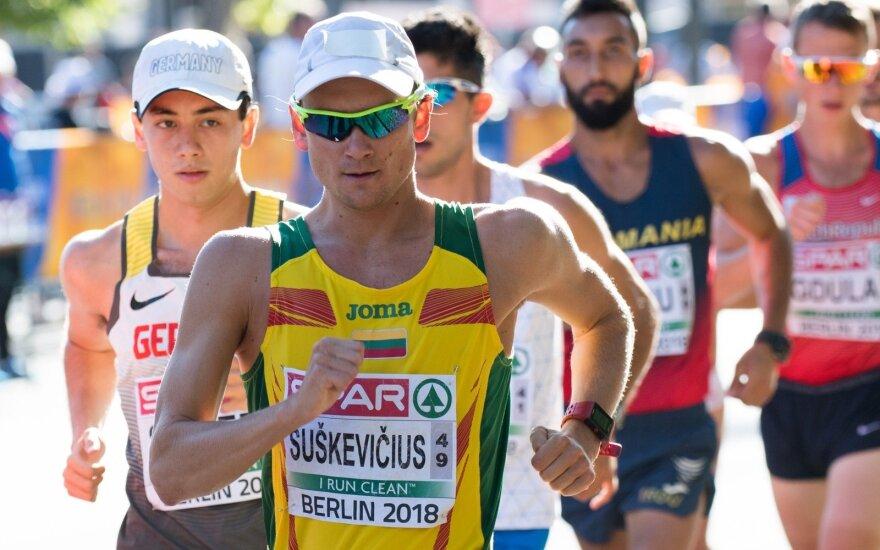 Europos lengvosios atletikos čempionatas: Tadas Šuškevičius ir Arturas Mastianica