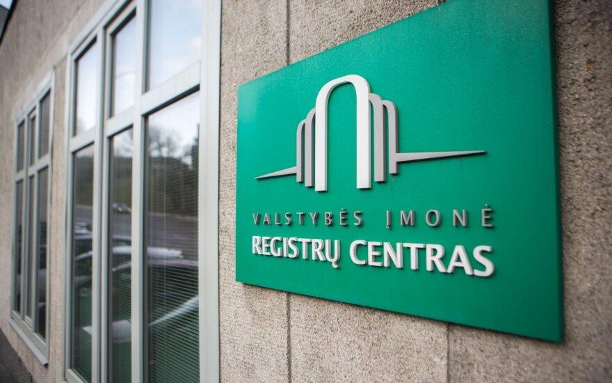 Registrų centrui nurodyta patikrinti, ar darbuotojai tinkamai deklaruoja interesus
