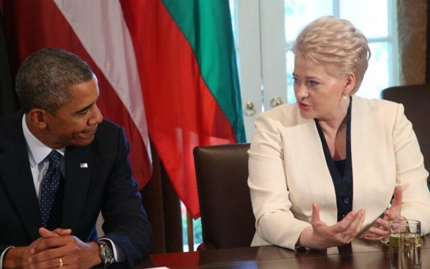 Baltijos valstybių vadovų susitikimas su B. Obama