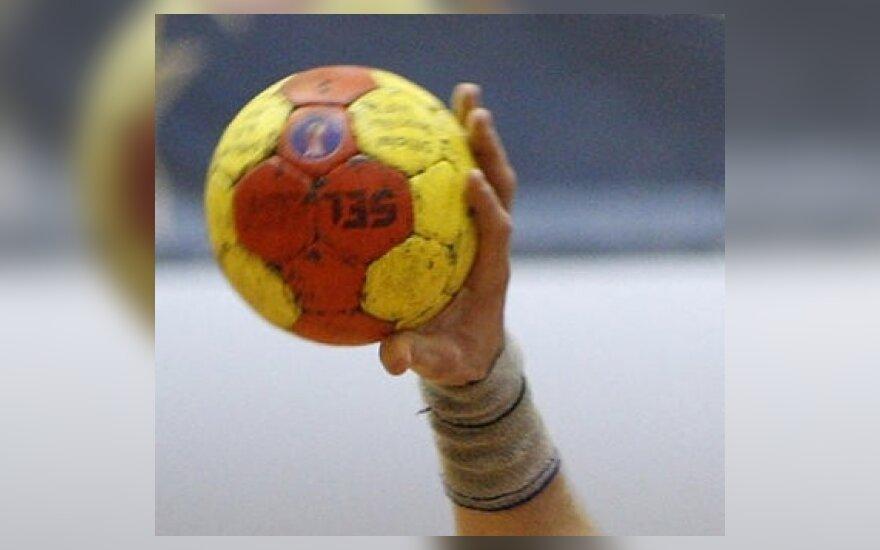 Lietuvos vaikinų rankinio rinktinė turnyre atrankos turnyre nepatyrė pergalės džiaugsmo