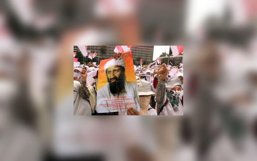 Osama bin Laden protesters