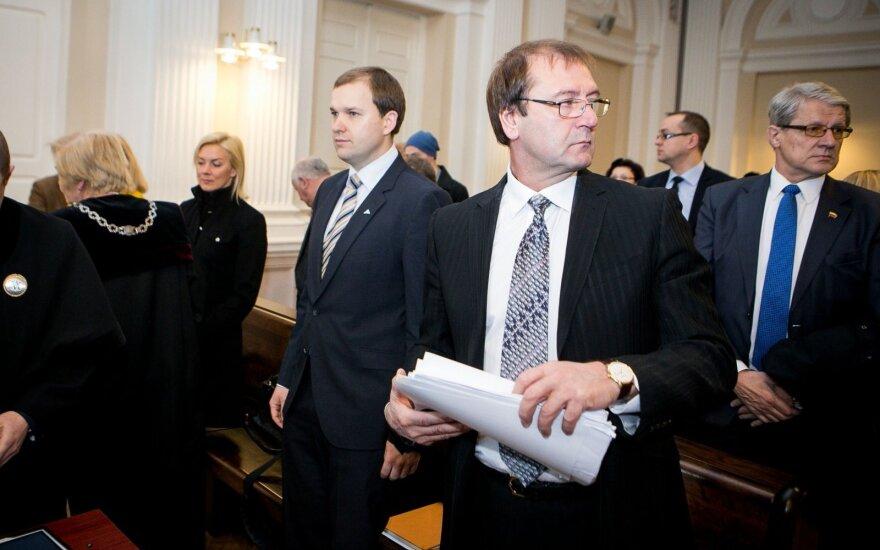 Vytautas Gapšys and Viktor Uspaskich