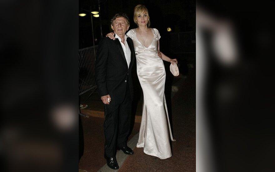 Romanas Polanski ir Emmanuelle Seigner