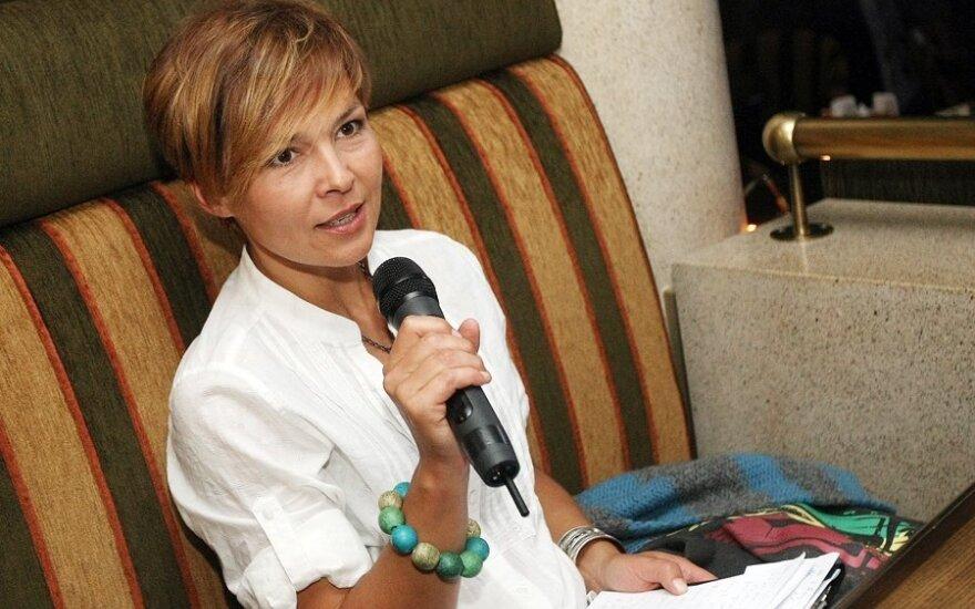 Audrė Kudabienė, creator of the Prieš Srovę show