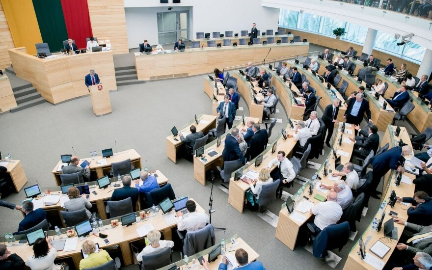 Lithuanian parlt to consider bid to restrict candidacy of persons with criminal past