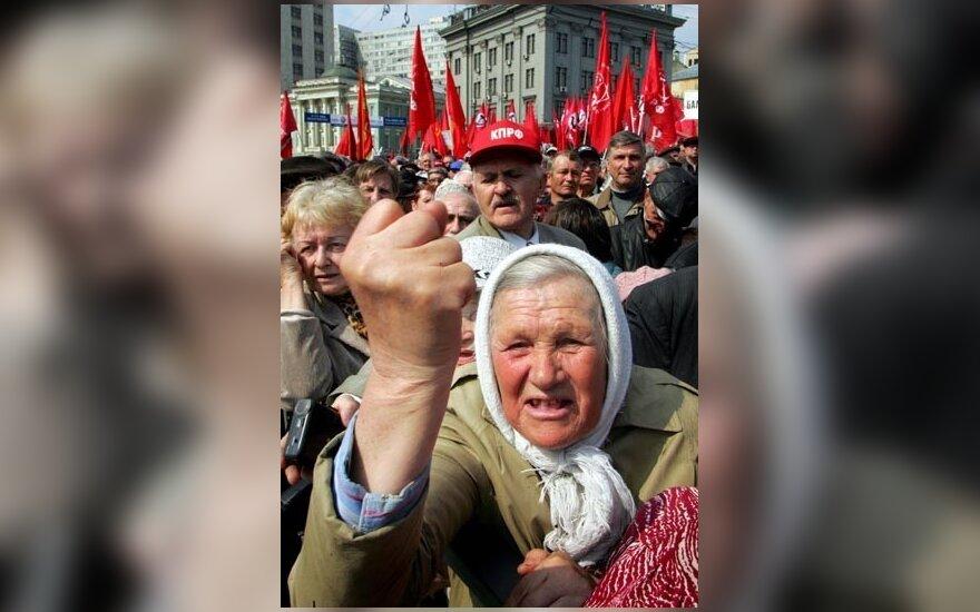 Rusijoje norima uždrausti keiktis