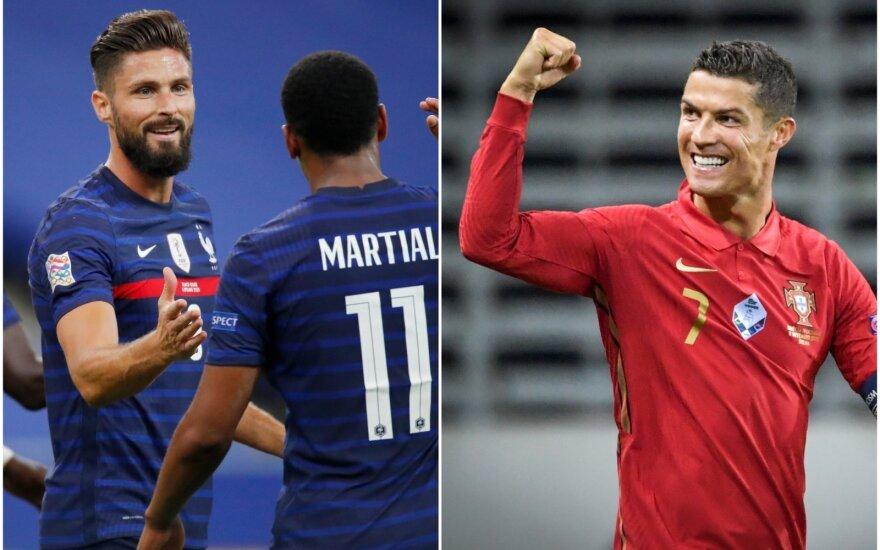 Prancūzijos rinktinė, Cristiano Ronaldo