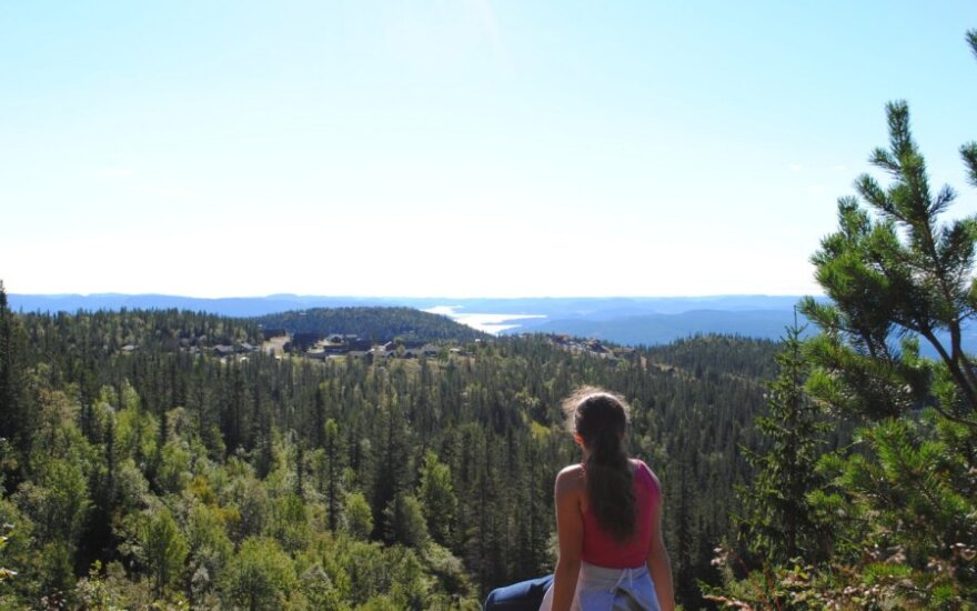 Studijos Norvegijoje - ir kopinėjant kalnuose