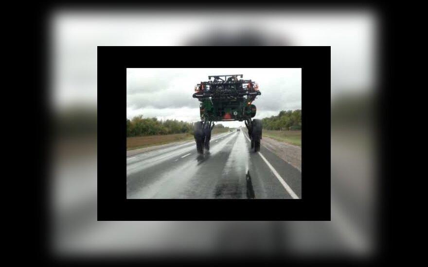 Žemės ūkyje įprastinė augalų purškimo mašina