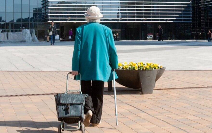 Statistikos departamentas: išlaidos pensijoms padidėjo 12,6 proc.
