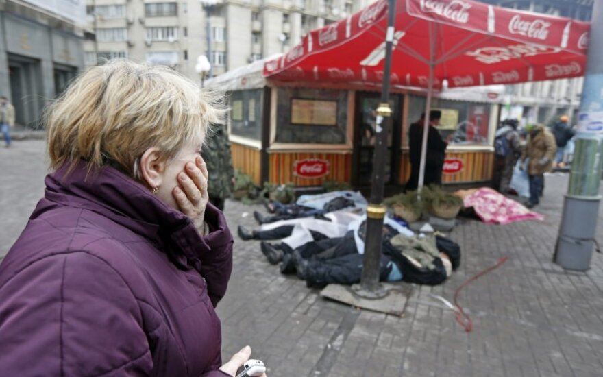 Lietuvė Lvove: valdžios provokatoriai nori Lvove destabilizuoti padėtį