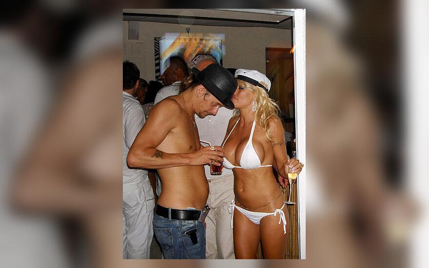 Pamela Anderson ir Kidas Rockas