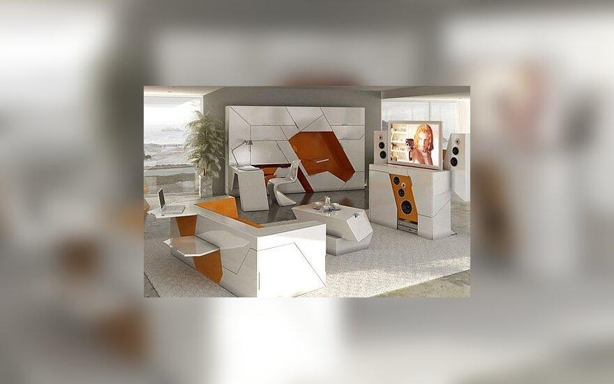 Boxetti sprendimai mažoms erdvėms. Dizaineris Rolands Landsbergs