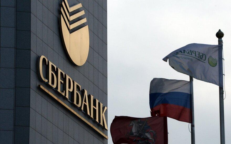 """""""Sberbank"""" pelnas šiemet padidėjo daugiau nei trečdaliu"""