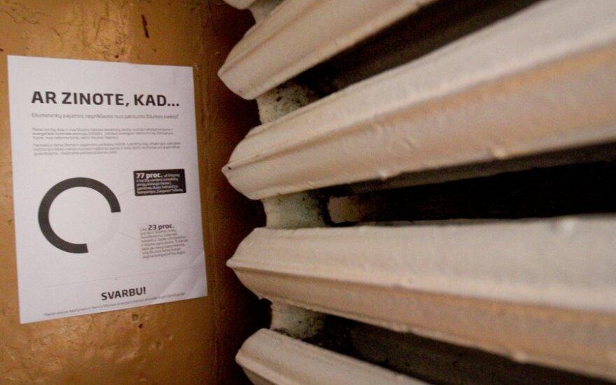 Ką su šildymo sąskaitomis darys kandidatai į Vilniaus merus?