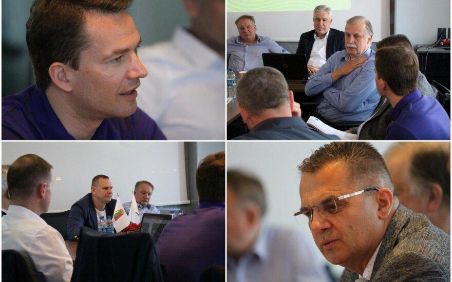 LKF ir FIBA susitikimas dėl teisėjavimo aktualijų