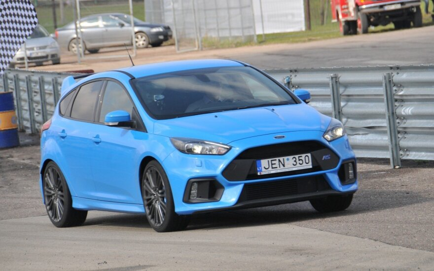 """Ford Focus RS"" Kačerginėje"