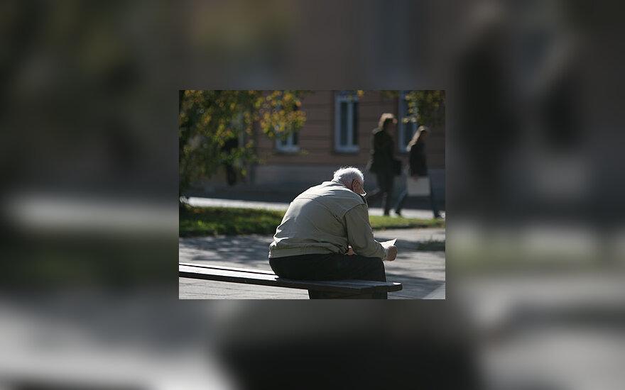 Senatvė, pensininkas, vienatvė